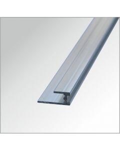Bodenprofil Aluminium glänzend 2,60 m