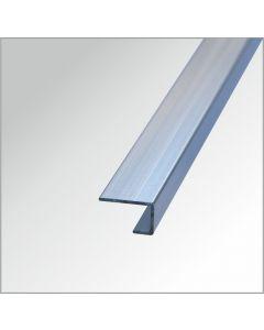 Abschlussprofil Aluminium glänzend  2,60 m