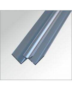 Eckprofil-Innen Aluminium glänzend 2,60 m