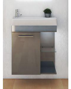 Guest 100 Waschtisch mit Unterschrank (integr. Sensorleuchte) - in 3 Farben