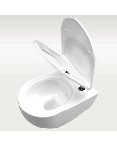 Oceanus Slim WC-Sitz / Deckel - Softclose in Weiß