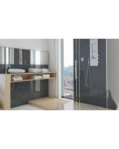 Schwarzer Granit, glänzend, 2600 mm x 1000 mm x 10 mm